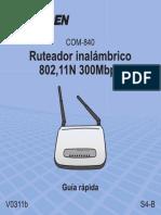 COM 840 Quickguide