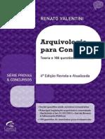 Arquivologia Para Concursos Renato Valentini