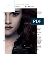 Twilight Poster Analysis