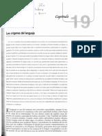 Kolb Whishaw Neuropsicologia Humana Cap 19 Los Origenes Del Lenguaje