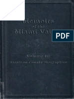 Memoirs of the Miami Valley - Hamilton County Biographies