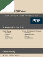 Urban Renewal Presentation