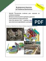 Modelamiento Numérico de Problemas Geotécnicos
