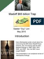 Ponzi Scheme -  Madoff Fraud