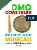 Apostila Instrumentos Musicais de Reciclagem