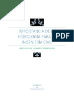 IMPORTANCIA DE LA HIDROLOGÍA PARA LA INGENIERÍA CIVIL.pdf