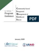 C-IMCI Policy Guidance Jan 2009