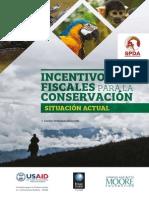 Incentivo Fiscales Para Conservación Ambiental