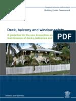 deck balcony & window safety guideline