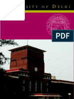 UNIVERSITY OF DELHI - Student Hand Book
