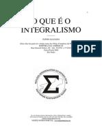 O Que e o Integralismo - Livro