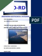 Diseño de Una Obra de Protección Maritima Para El Puerto de Coatzacoalcos,Veracruz