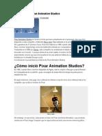 La Historia de Pixar Animation Studios