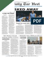 The Daily Tar Heel for Mar. 27, 2015
