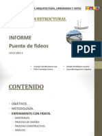 Informe Puente de Fideos Final