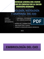 Embriología, Histología y Anatomía Del Ojo