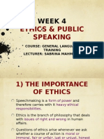 speech ethics