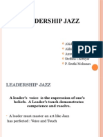 Presentation1 Leadership Jazz