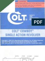 Colt Cowboy Single Action Revolver