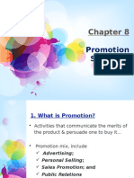 Chapter 8 - Promotion Strategy