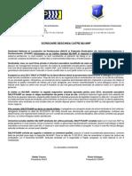 Adresa Comuna SNLP-FSANP Declansare Actiuni 27mar2015