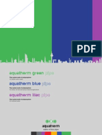 Aquatherm Green Blue Lilac