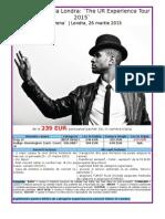 Concert Usher La Londra 26 Martie 2015