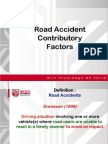 Accident Contributory Factors (Sem1Yr2012-13)