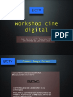 Cine Digital - Workshop