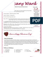 Tuscany February Newsletter