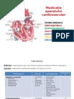 Medicaţia Afecţiunilor Cardiovasculare