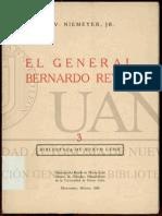 Niemeyer - El General Bernardo Reyes