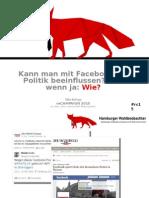 """rc15 """"Kann man mit Facebook die Politik beeinflussen?"""" Martin-Fuchs"""