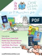 Cardiff Lit Fest 2015