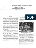 Geoteknik - 33 - Analysis of Practical Ground Control Issues in Highwall Mining