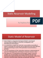 Static Reservoir Modelling