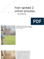 Fashion Spread 2 Production Process