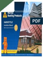 Harveytile Installation Manual