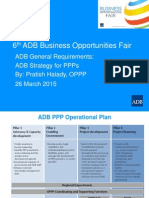6 ADB Gen Strategy for PPPs by PHalady 20Mar2015