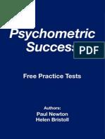 Psychometric Success