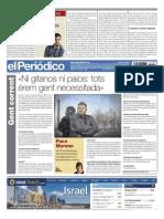 Paco Moreno. Contraportada Periódico 23-3-2015