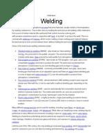Welding (WorkShop) Assig # 1