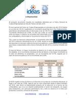 Reporte Mensual (Febrero 2015) - Índice General de Costos Empresariales