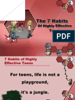 Seven-habits-Of Highly Effective Teens Presentation