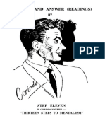 Corinda 13 Steps To Mentalism Ebook