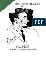 Corinda 13 Steps To Mentalism Ebook