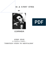Corinda - Step 05 of 13 Steps to Mentalism - Blindfolds and X-Ray Eyes (OCR)