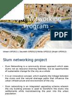 Slum networking, indore