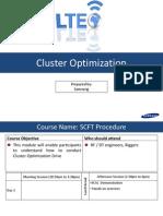 Cluster Optimization Procedure V1