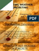 Extreem Weather Concreting